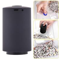 Black food home vacuum sealing machine file valuables vacuum packaging mach