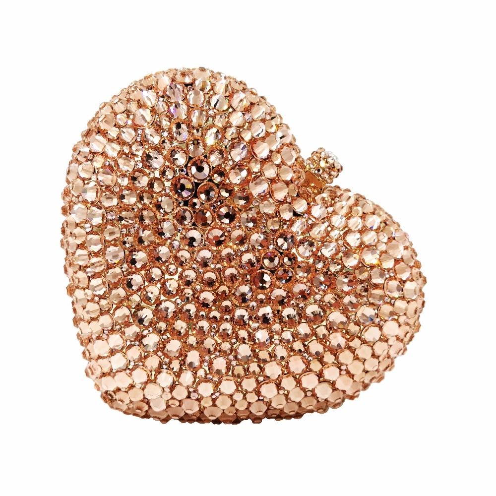 Gold Evening Bag Party Luxury Diamond Purse rhinestone Clutch BagGold Evening Bag Party Luxury Diamond Purse rhinestone Clutch Bag