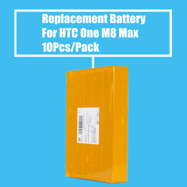 New Arrival 10Pcs/pack 2600mah Replacement Battery for HTC ONE M8 MAX T6 8060 8160 8088 809D High Quality