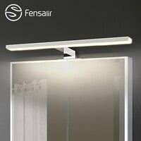 Fensalir 0 15W Dimmable waterproof Aluminum+ABS+Acryl toilet indoor makeup lighting Bathroom fixtures Led light Mirror Wall lamp