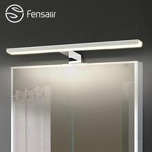 Fensalir 0-15 Вт затемняемый водонепроницаемый алюминий + ABS + acryl Туалет Крытый макияж освещение Ванная комната светильники монитор со светодиодной подсветкой настенный светильник