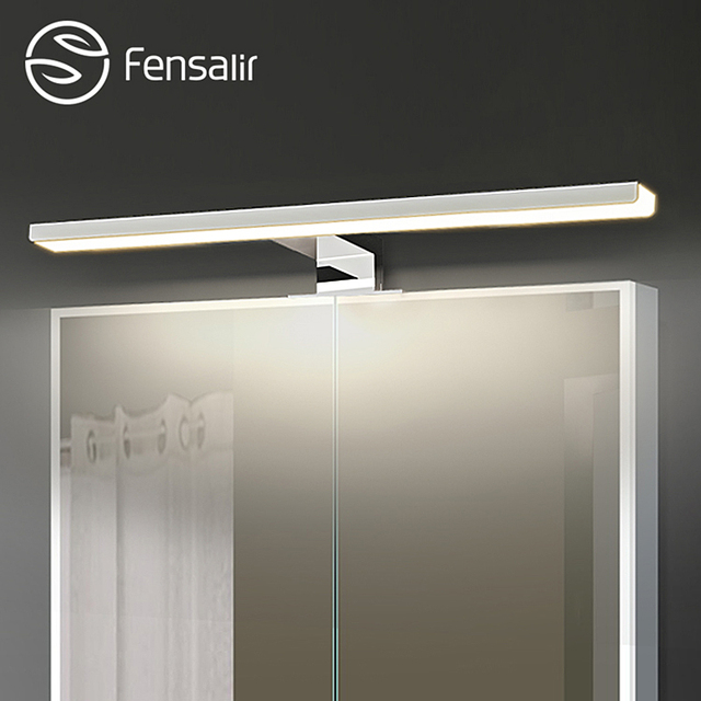 Fensalir 0 15w Dimmable Waterproof Aluminum Abs Acryl Toilet Indoor Makeup Lighting Bathroom