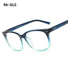2017 Brand Design Classic Frame Riveting Spectacles Multicolor Light Reading Glasses High Quality HD Glasses Clear