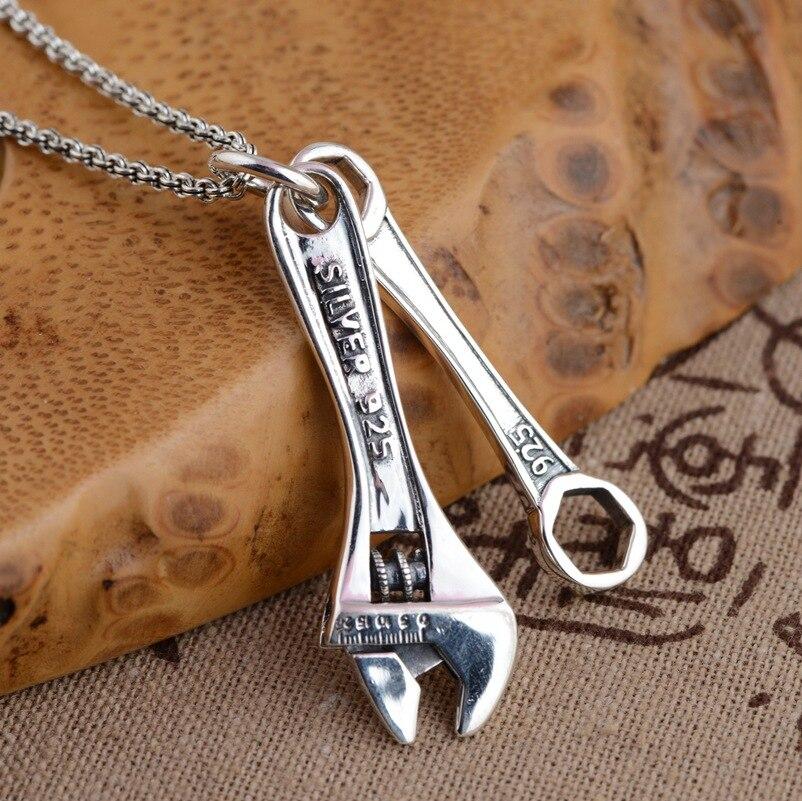 Cerf roi bijoux S925 pendentif en argent sterling en gros antique artisanat conseil autres styles de nouvelle personnalité