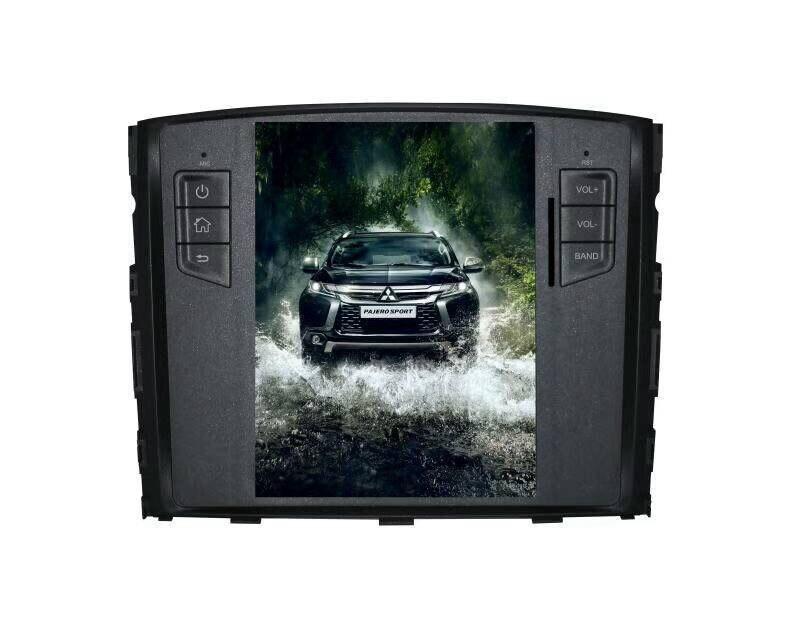 Nouveau Tesla Style 2 Din Android 7.1 voiture Radio GPS Navigation lecteur DVD pour MITSUBISHI Pajero V97 V93 Shogun Montero 2008-2016 3G - 2