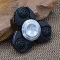 Mão Spinner Fidget EDC Spin Alumínio Personalizado Rolamento Fidget Brinquedos Preto