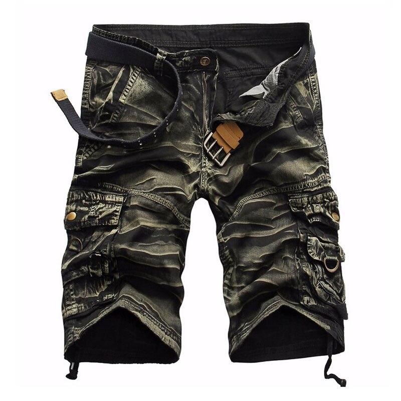 Shorts Mann 2018 Marke Mode Herren Bermuda Kurze Männer Homme Cargo-Shorts