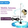 Рации портативные антенны 230 МГц Мобильный Антенна Магнитная антенна SMA-M Разъем терминал антенна для удаленной машине