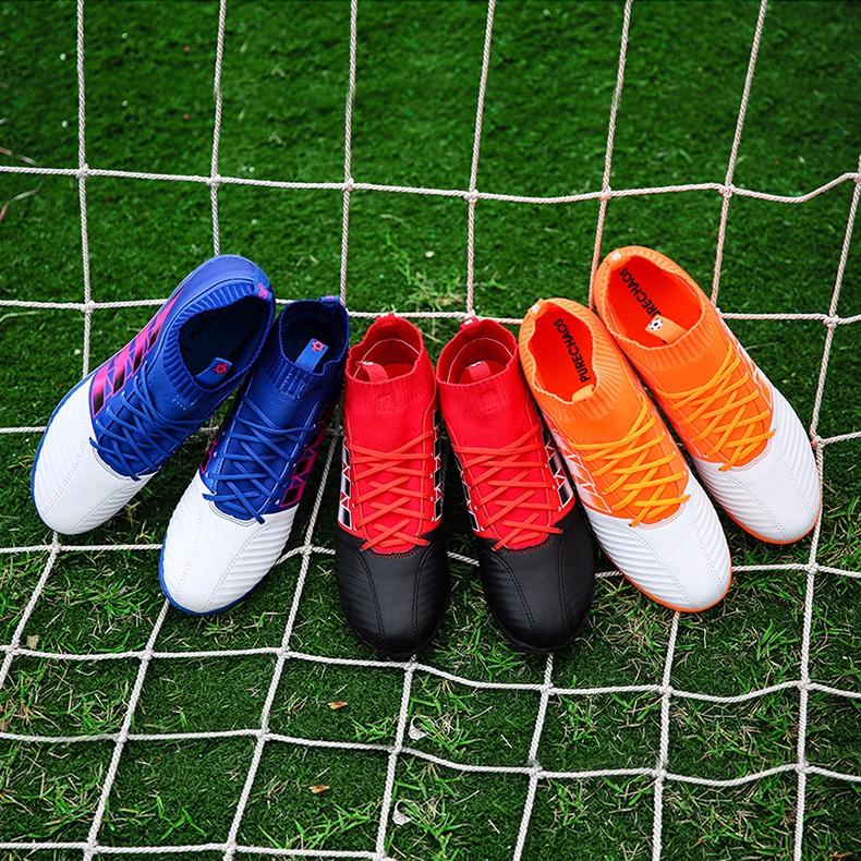Men's Soccer Shoes TF Futsal Hard Court Turf Football Boots Indoor Sock Cleats Trainer Cheap Botas Chuteira Futsal Shoes1