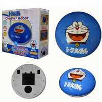 Mini Cartoon Auto Cleaner Robot Microfiber Smart Robotic Mop Floor Corners Dust Cleaner Sweeper Vacuum Cleaner