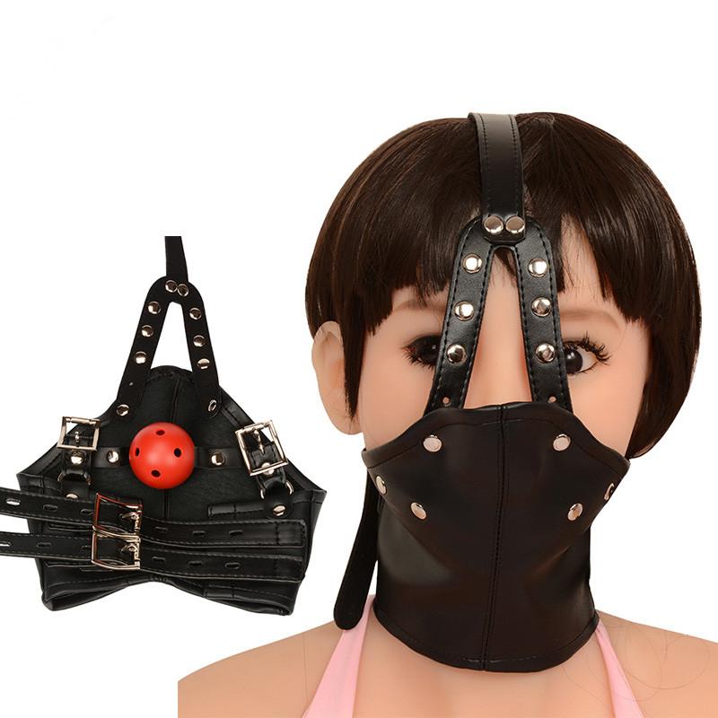 Sorry, that leather bondage face head mask consider