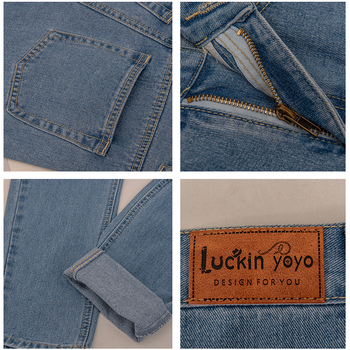 luckinyoyo jean woman mom jeans pants boyfriend jeans for women with high waist push up large size ladies jeans denim 5xl 2019 6