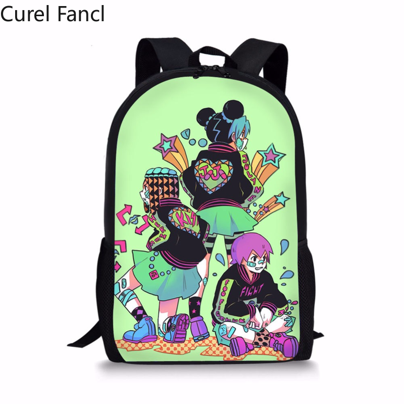 2020 nowe japońskie anime przygoda plecaki szkolne torby nastoletnie tornister dla chłopców dziewcząt studentów torba na książki Curel Fancl