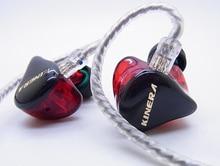 Yeni KINERA H3 2 Dengeli Armatür + 1 Dinamik Sürücü 2BA + 1DD Hibrid HiFi Audiophile Monitör DJ Spor Kulak kulaklık MMCX Kablo