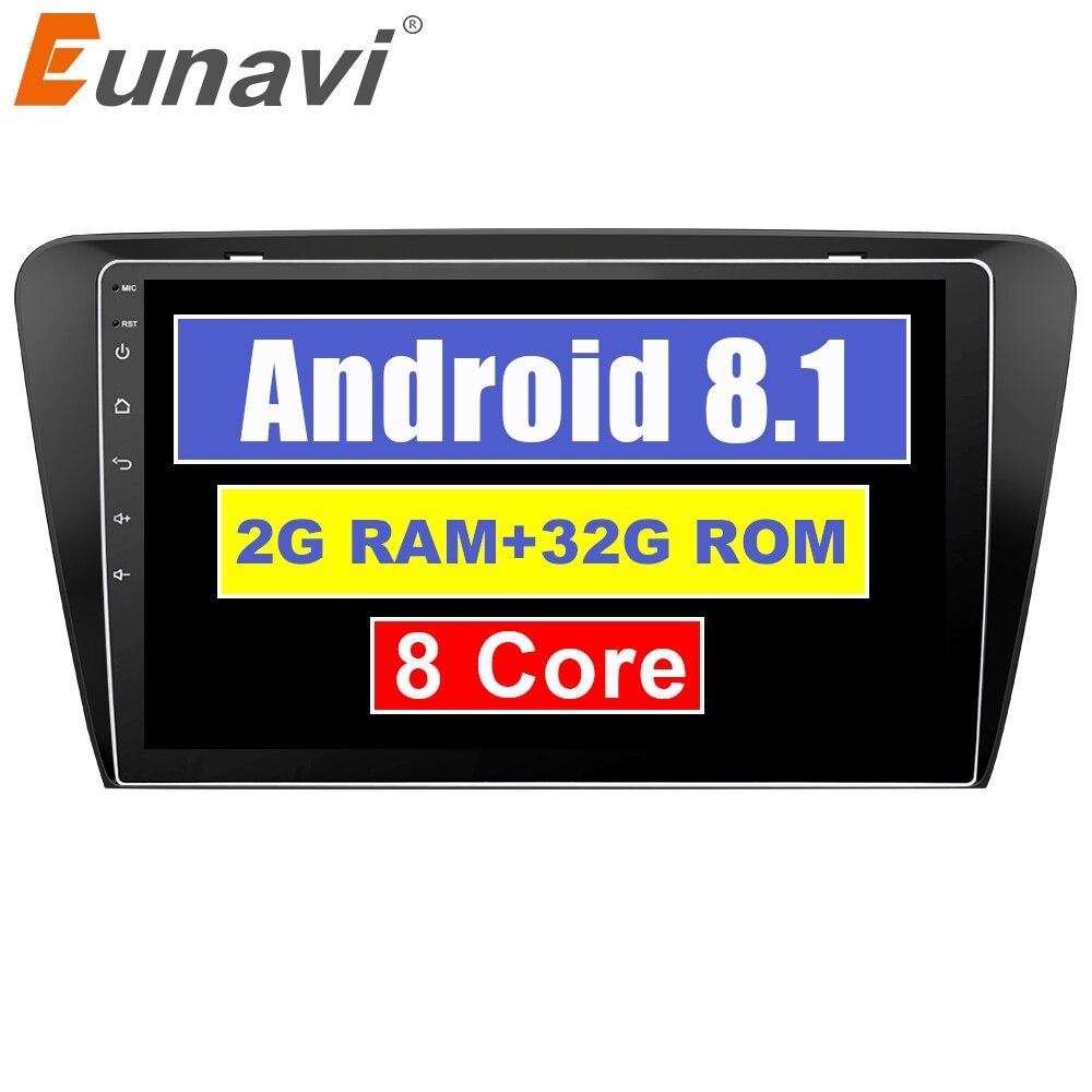 Eunavi Android 8.1 octa-core 10.1 pouces autoradio HeadUnit GPS Navi lecteur pour Skoda OCTAVIA 2015 2G + 32G avec WIFI RDS autoradioEunavi Android 8.1 octa-core 10.1 pouces autoradio HeadUnit GPS Navi lecteur pour Skoda OCTAVIA 2015 2G + 32G avec WIFI RDS autoradio