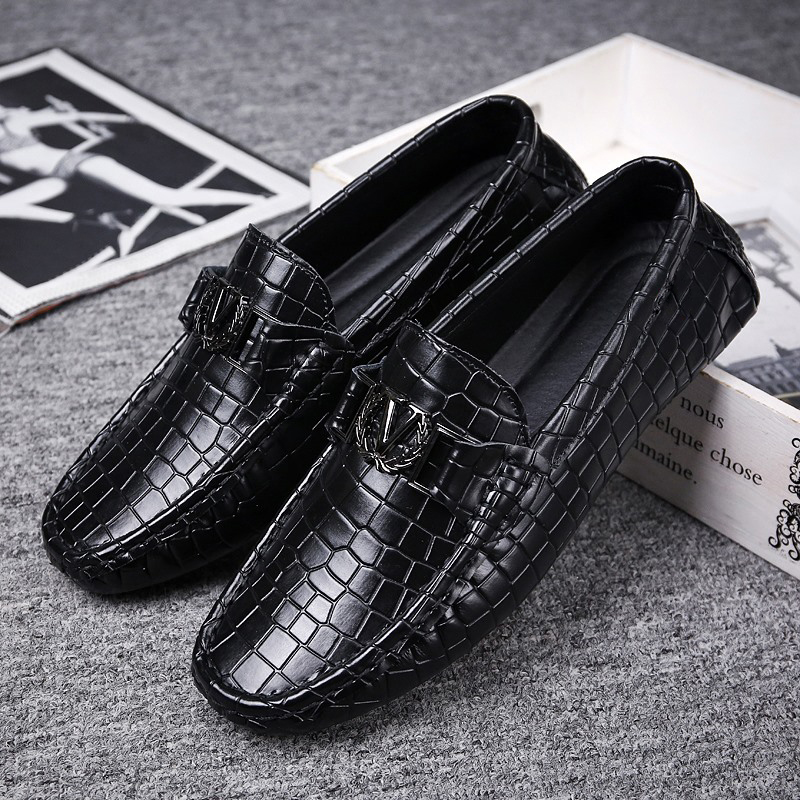 Men Loafers Men's Casual Shoes Genuine Leather Mocassin Masculino Breathable Slip on Boat Shoes Chaussures Pour Hommes Hot Brand