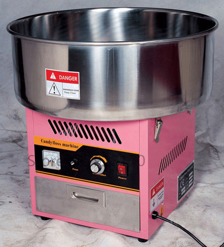 Commercial Electric Cotton Candy Maker Machine Great Snack Food Machine fast food leisure fast food equipment stainless steel gas fryer 3l spanish churro maker machine