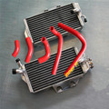 aluminum alloy radiator+silicone hose For Honda CR250R CR 250 2-STROKE 2005 - 2007