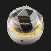 ICOCO Starry Sky Magic Star Moon Planet Rotating Projector Lamp LED Night Light Cosmos Universe Luminaria