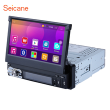 "Seicane 7 ""Android 6.0 Univeral One DIN Auto Radio GPS Navi Stereo Multimedia Player Supporto Bluetooth MP3 Musica Specchio collegamento WIFI"