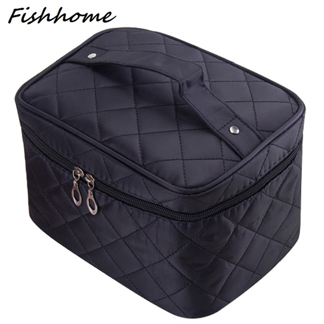 Aliexpress.com : Buy Cosmetic box 2017 new female Quilted ... : quilted cosmetic bags - Adamdwight.com