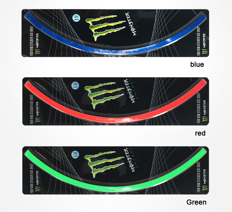 2019 New 16 Strips Bike Car Motorcycle Wheel Tire Rim Stickers And Decals Decoration Stickers Car Styling Accessories From Mymother010 8 68