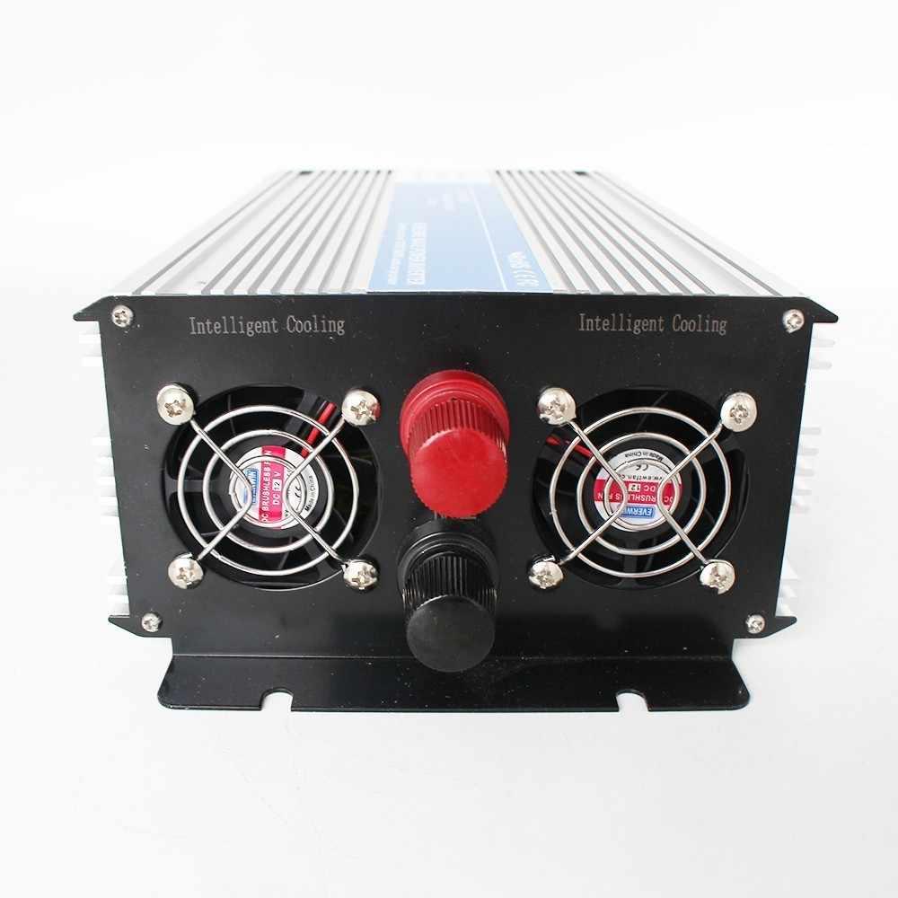 Inversor de onda sinusoidal pura 1200 w DC 12 V/24 V/48 V a CA 110 V/ circuitos trónicos de 220 V, inversor de corriente fuera de red, LED 12 24 48 V barato