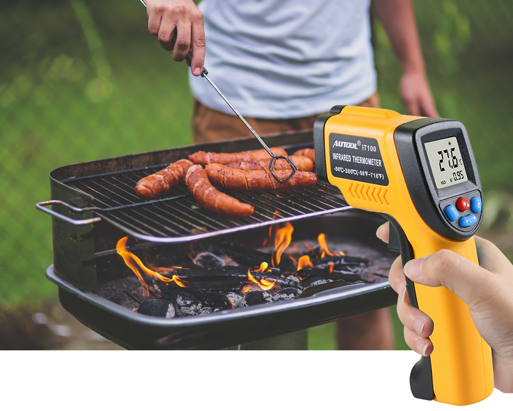 Infrared thermometer apply 3