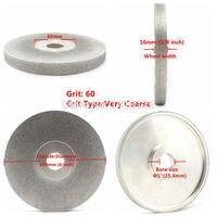 6 дюймов 60 180 зернистый Алмазный лицо шлифовальный круг облицовочный абразивный диск Broadside ILOVETOOL