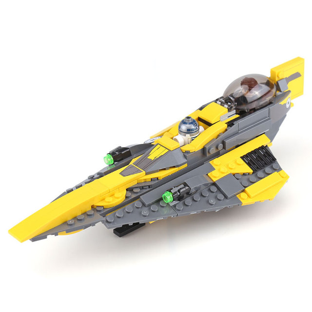 05144 Star Toys Wars The 75214 Anakin`s Jedi fighter Set Wars Building Blocks Bricks Kids Boys Toys Christmas Birthday Gifts