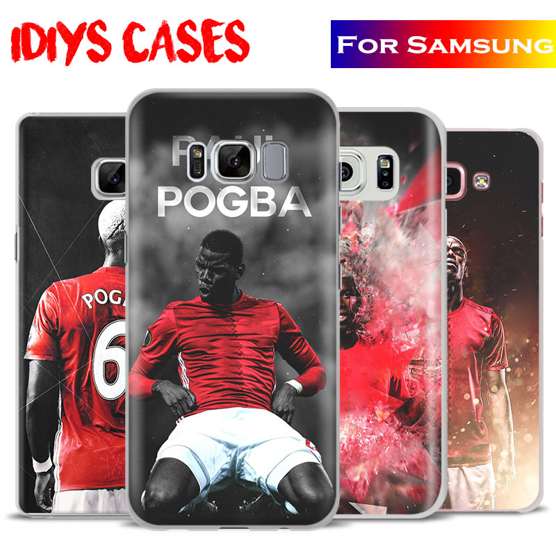 Paul Pogba Fashion Design Coque Phone Case Shell Cover Bag For Samsung Galaxy S4 S5 S6 S7 Edge S8 Plus Note 2 3 4 5 C5 C7 A8 A9