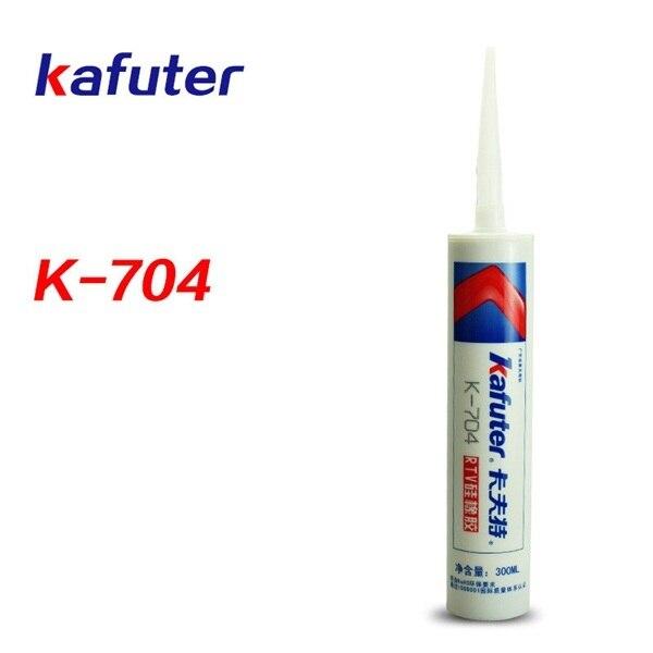 Kafuter scellant en silicone 300ml   Colle spéciale électronique à un composant, température de pièce, caoutchouc de silicone blanc