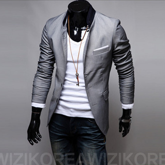 fb6ce5389b QXY men's fashion suits slim casual suit jacket for men civilian clothes  brands designer classic retro clothing X17