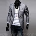 QXY trajes de moda masculina chaqueta delgada ocasional del juego de los hombres de civil marcas diseñador clásico retro ropa X17