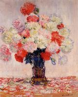 bathroom art Vase of Peonies by Claude Monet paintings Home Decor Hand painted High quality