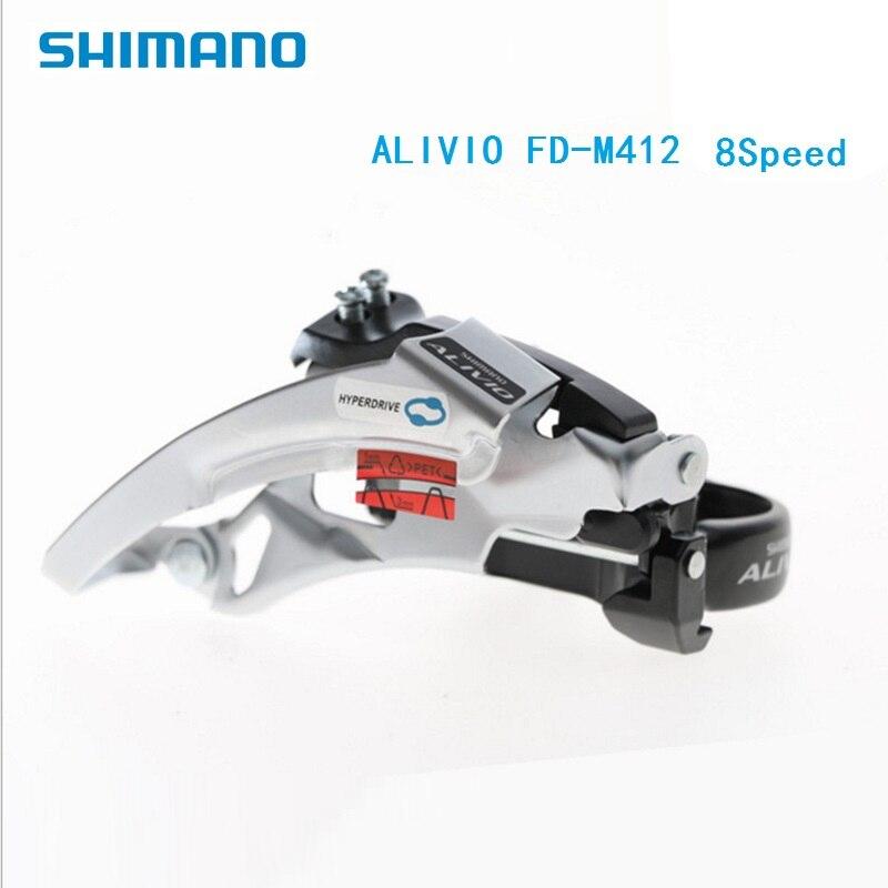Bicycle Parts Sports & Entertainment Diligent Bicycle 3s X 8s Derailleur Shimano Alivio Fd M412 410 Front Derailleur 8 Speed 24 Speed Mtb Mountain Bike Accessories