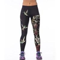 Sporting stretch leggings fashion bird skull print fitness soft leggings women comfortable pants trousers font b.jpg 200x200