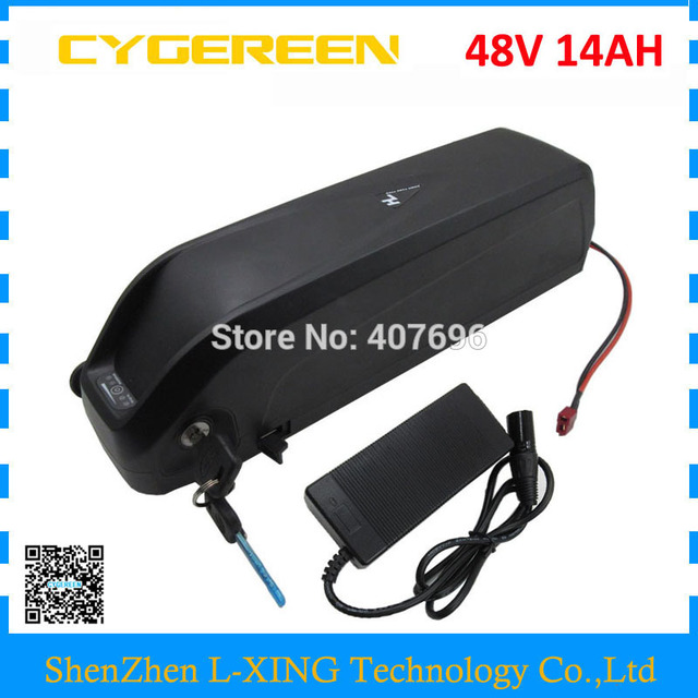 Down tube Hailong 48V 14Ah battery 1000W 48V lithium ion ebike battery with USB Port Use 3500mah 35E cells US EU Free Tax