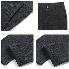 Pants Full Length Cotton Pants Men regular Zipper men pants casual mens business trousers pants men big size 34 36 38