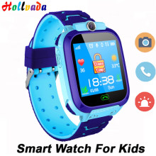 Waterproof Kids Smart Watch SOS Antil-lost Smartwatch Baby 2G SIM Card Clock Call Location Tracker Smartwatch PK Q50 Q90 Q528(China)