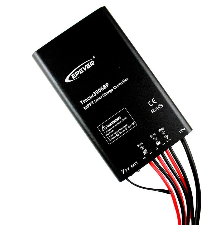 12 v regulador mppt tracer3906bp epever 15a 15 ampères epsolar novos produtos de chegada usb conectar cabo de computador controlador de bateria solar - 2