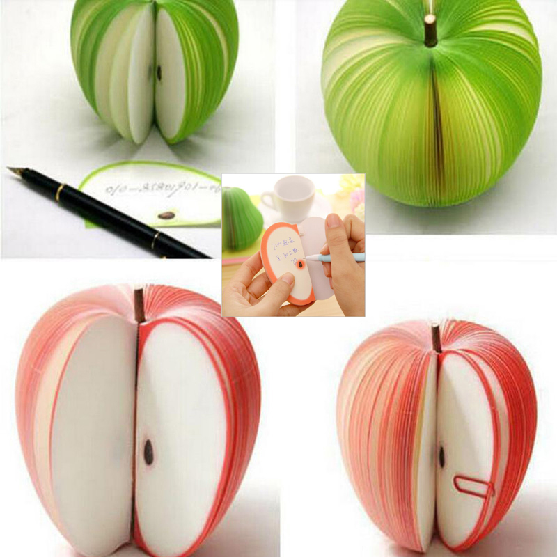 Cute Notes Creative Diy Fruits Vegetables Notepads Kawaii Paper Stickers Korean Stationery Papelaria Supplies