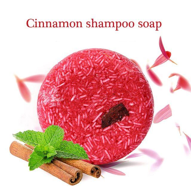 Fashion Handmade New Fragrance Shampoo Bar Soap Hair Growth Nourishing Natural Handmade Herbal Hair Care Deep Nourish 3