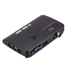 1pcs HDMI DVB T/DVB T2 Ricevente del Sintonizzatore TV DVB T/T2 TV Box VGA AV CVBS 1080P ricevente Satellite del HD digitale Per Monitor LCD/CRT