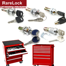 Rarelock MS540 Cabinet Lock for Tool Box Game Machine Toy Vending School Locker Gym Case Industry Hardware DIY i rarelock ms564 handle cabinet cam lock for storage box jewelry case mail box electronic file cabinet office product industry h