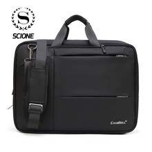 17 Inch Multi-fucntion Business Laptop Backpack Brief case For Men Women Office Travel Waterproof Computer Shoulder Bags Gift(China)