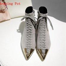 Krazing pot/2020 Новый Лидер продаж женские туфли лодочки замша