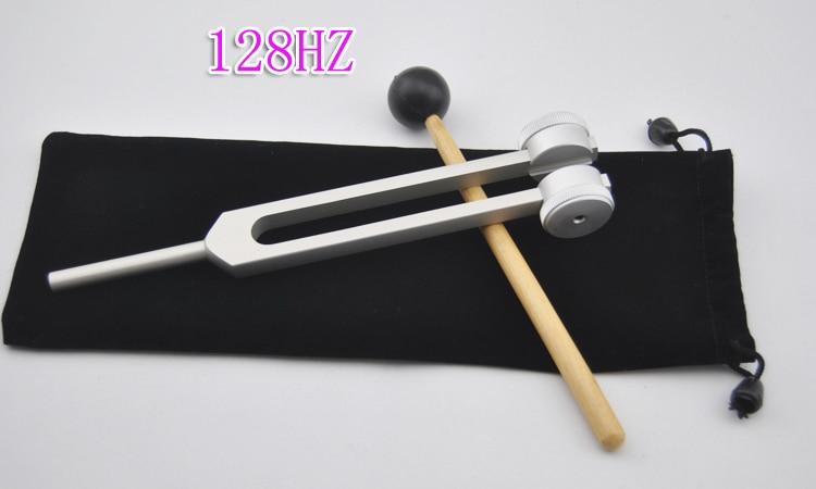 128Hz Aluminum clean ear tuning fork massage tp760 765 hz d7 0 1221a