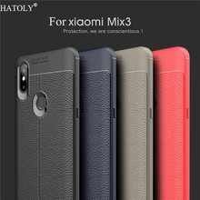 For Cover Xiaomi Mi Mix 3 Case Silicone PU Leather Phone Funda Capa
