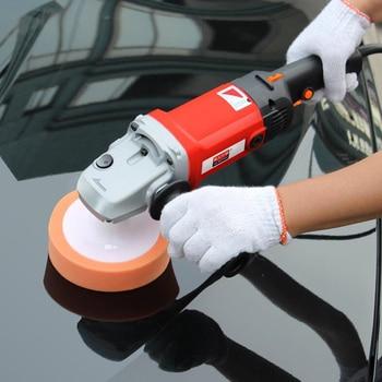 Car Polishing Machine 6 Variable Speed Car Waxing Polishing Machine 220v 1400W Sealing Glaze Waxing Polisher LRX-180